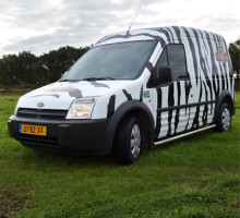 Beekse Bergen full colour carwrap
